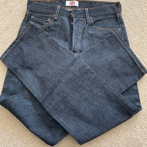 NWOT Levi's Mens 501 Jeans dark wash 30x30